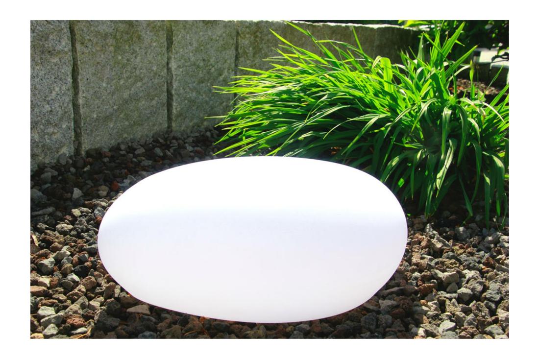 Solar Led Stone Led Gartendeko Mit Solarfunktion Auf Furstar